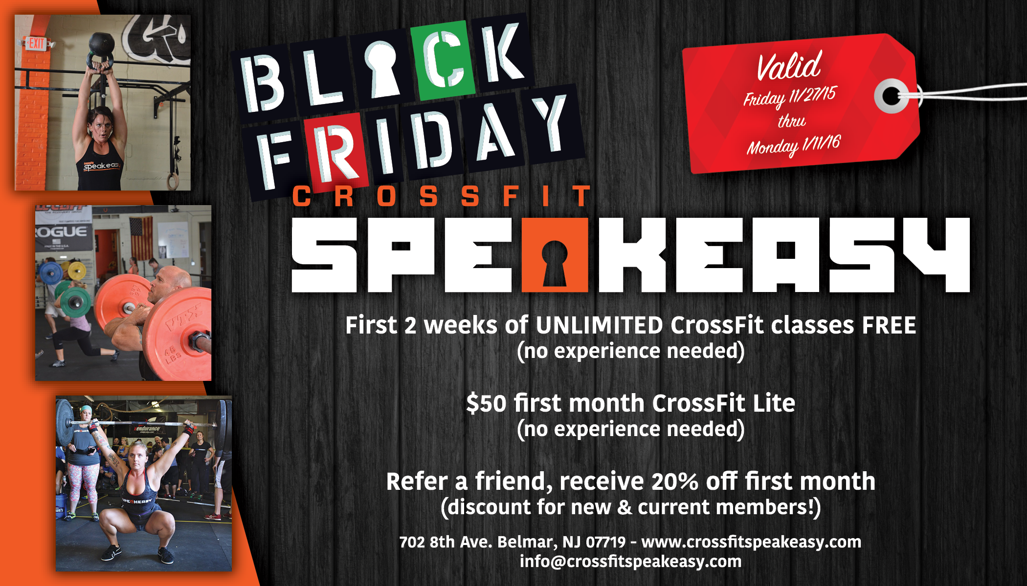 11 28 15 Holiday Deals Discounts Crossfit Speakeasy